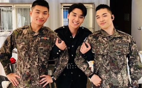 團魂不滅~BIGBANG主唱line再度合體...忙內勝利直呼想哥哥們了!