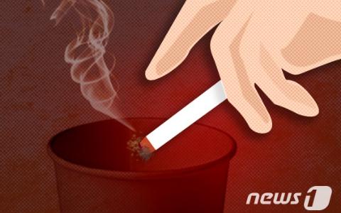 引火自焚?!韓女在廁所抽菸,竟害自己2度燙傷!