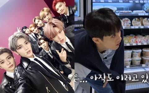 NCT 127假裝工作人員一秒被識破...Mark獨自認真「捉迷藏」可愛大爆發!
