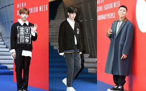 好想要男友穿這樣!首爾時裝周10位男星的魅力穿搭!