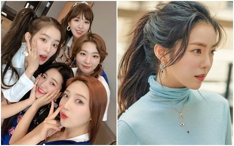 網路瘋傳Red Velvet Irene的「臉部高清照」 網友驚呼:確定是27歲嗎?