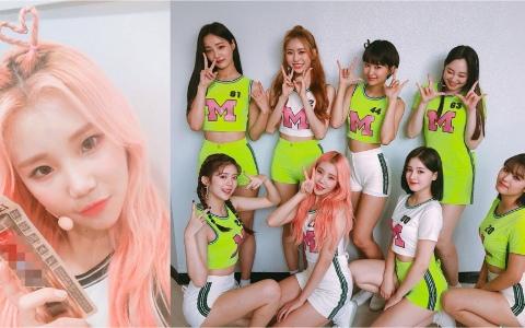 MOMOLAND爆紅成員JooE「長時間維持金髮造型」背後的原因是?