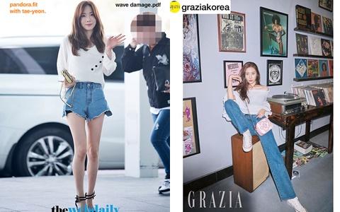 她們也用牛仔褲顯腿長!9位韓國女星的牛仔褲類型盤點