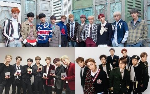 11月「男團品牌評價」出爐!EXO、防彈少年團、Wanna One當紅男團都入榜,冠軍由誰奪得?