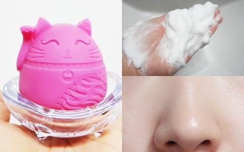 是洗顏皂也是面膜?用「純天然貓咪」冰淇淋泡泡洗出健康美肌!
