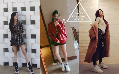 20歲穿嚴智那套超適合!18-24歲韓國女偶像的穿搭!