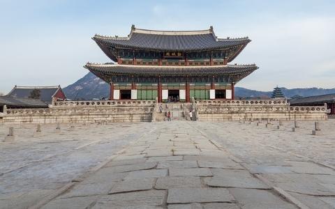 終於可以從各個方向進去了~景福宮「迎秋門」相隔43年再次打開!