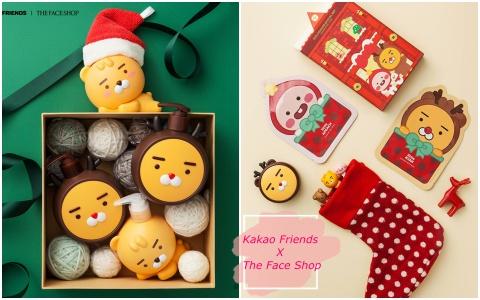 Ryan麋鹿太萌啦~Kakao Friends與The Face Shop推出聖誕聯名!