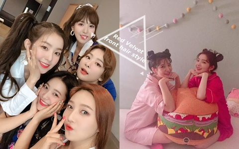 有無瀏海差超大!盤點Red Velvet五人的各種韓系瀏海造型!