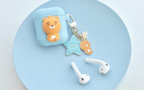 告別純白蘋果耳機盒!超可愛RYAN耳機盒出來囉~
