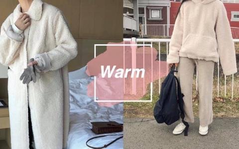 跟著韓國小姐姐一起穿! 今年冬天韓國最時髦必備的羊羔毛單品