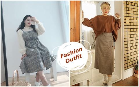 肉肉女也能穿超美!韓國厚片女孩的顯瘦穿搭8招術!