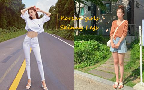 想要韓國小姐姐的11字直瘦腿♥韓綜推薦的簡單運動就辦得到!
