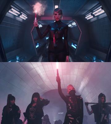 泰勒絲被抓包抄襲2NE1《Come Back Home》MV?