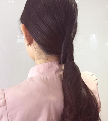 不光簡單還要時尚 用頭髮綁頭髮的4大妙招