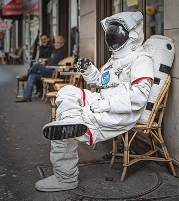 突然蹺班的宇宙人  巴黎遊記第1彈
