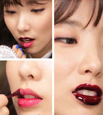 防水不脫色不沾杯 韓國正夯的撕拉式染色唇彩
