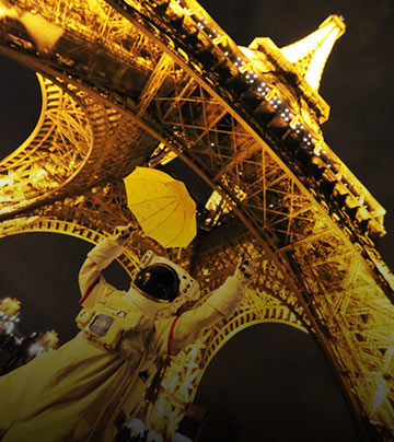 突然想蹺班的宇宙人  巴黎遊記第3彈