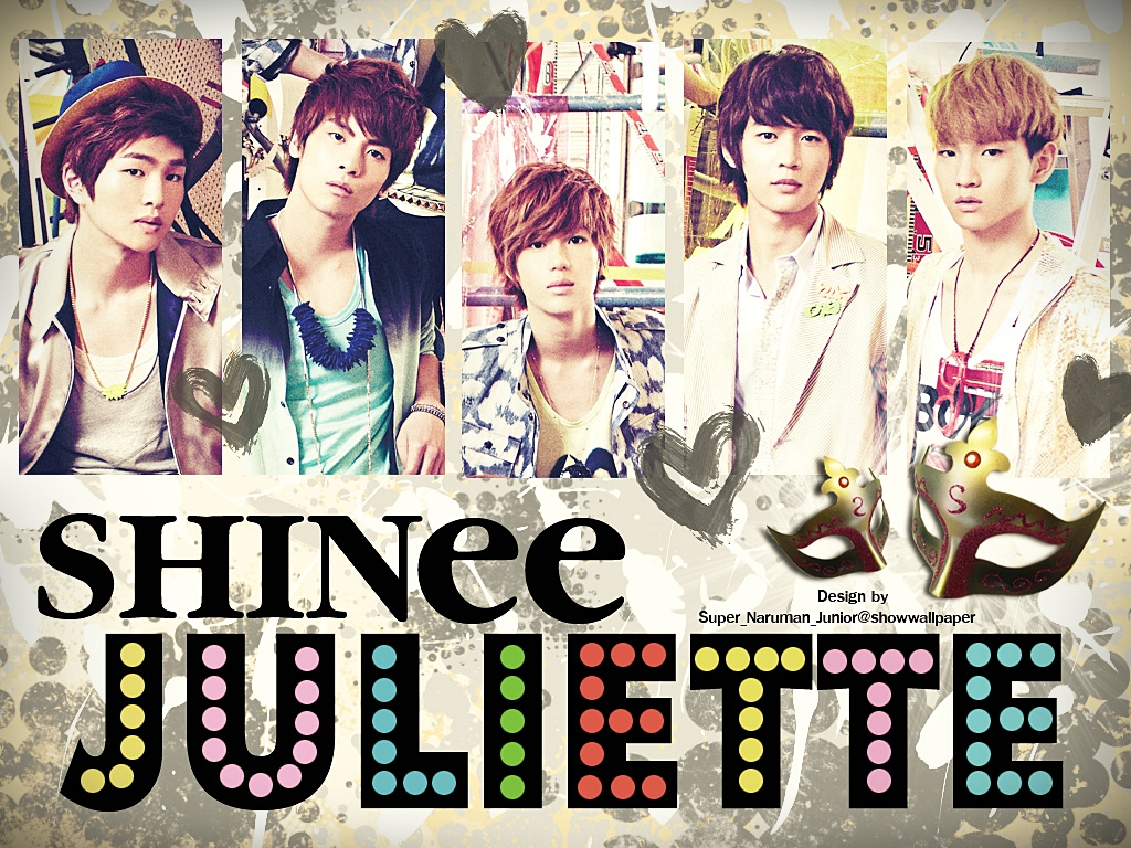 SHINee《Juliette》(2009/5/17發行)  重製美國歌手Corbin Bleu《Deal With It》(2007/5/1發行)