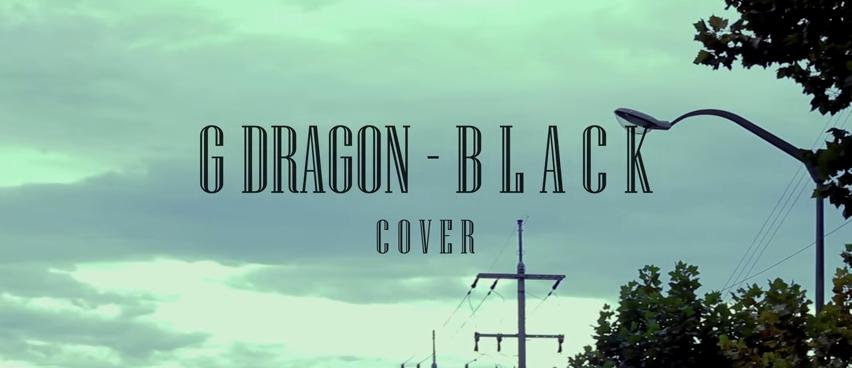G-DRAGON - BLACK 有點饒舌的歌曲也可以駕馭得很好唷~