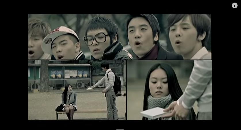 最後,韓妞最愛點的唯一男孩團體的歌 BIGBANG - 最後的問候 (2007)