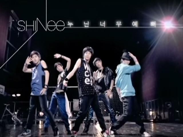SHINee - 姊姊你好美   (2008.05.22.)  當時唱著這首歌的小鮮肉SHINee,不知道偷走了多少姊姊的心啊~