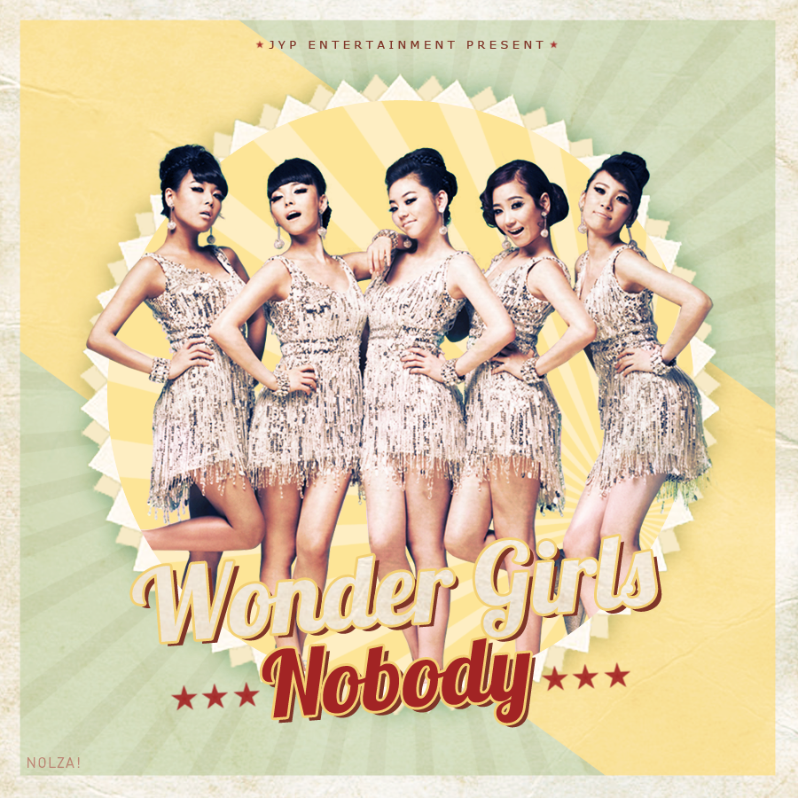 代表曲:Wonder Girls - Nobody