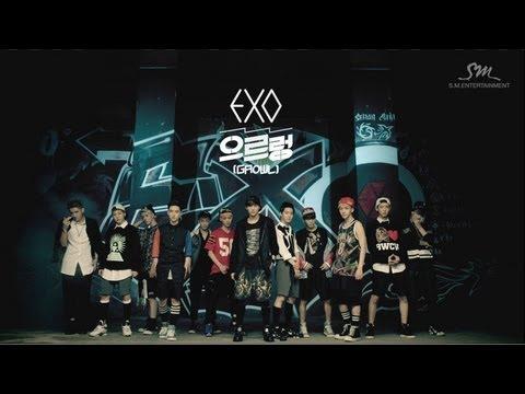 EXO - Growl (2013)  果然是力與美的組合,連鏡頭位移也剪進去了~
