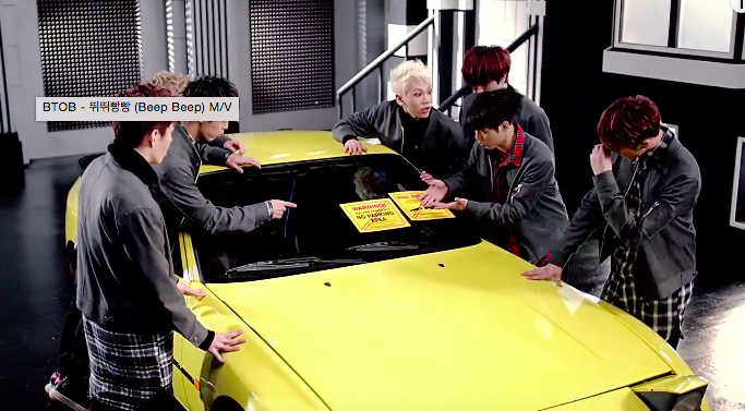 ✭ 轉變的開始:反覆歌詞 K-POP 曲風 ✭  說到 BTOB 的洗腦歌曲,怎麼能漏掉這首呢?沒錯!就是「뛰뛰빵빵 (Beep Beep)」,只要看完一次 MV 就可以跟著「뛰~뛰~빵~빵!」了!