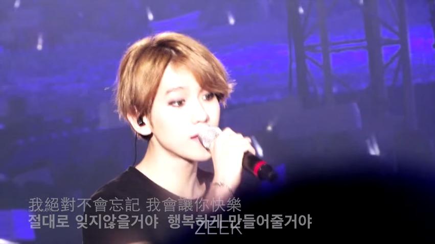 TOP 20: EXO 《約定》 第二張正規改版專輯《LOVE ME RIGHT》(2015/06)