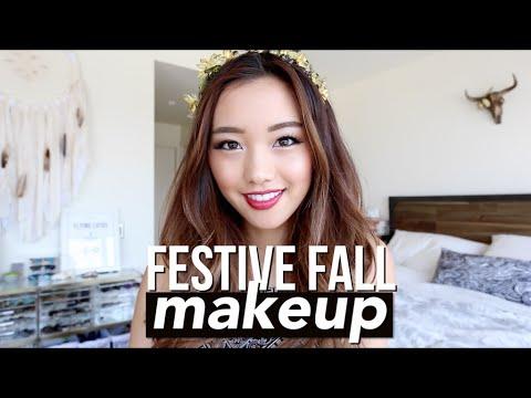 #Festival Fall make up 讓她告訴你,亞洲人也可以很適合歐美濃妝!  *影片無法播放時,請點擊至原出處觀看