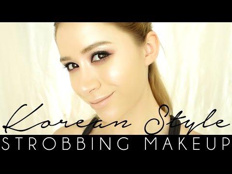 看洋妞如何教韓式美妝Strobing makeup,學起來↗↗↗↗  *無法播放時,請點擊連接至原出處