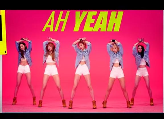 而今年4月推出的新歌《Ah Yeah》,在唱到「Ah Yeah」的部分,不但旋律和節奏跟《Up & Down》很像,連舞蹈都很相似....