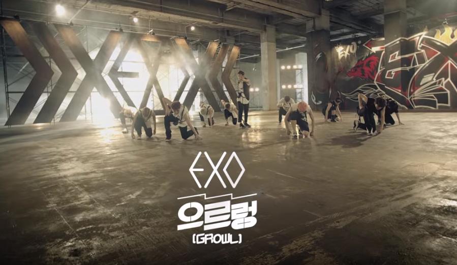 ★ No.8 :: EXO 'Growl'(10,628 分)  * 無法播放時,請直接按出處
