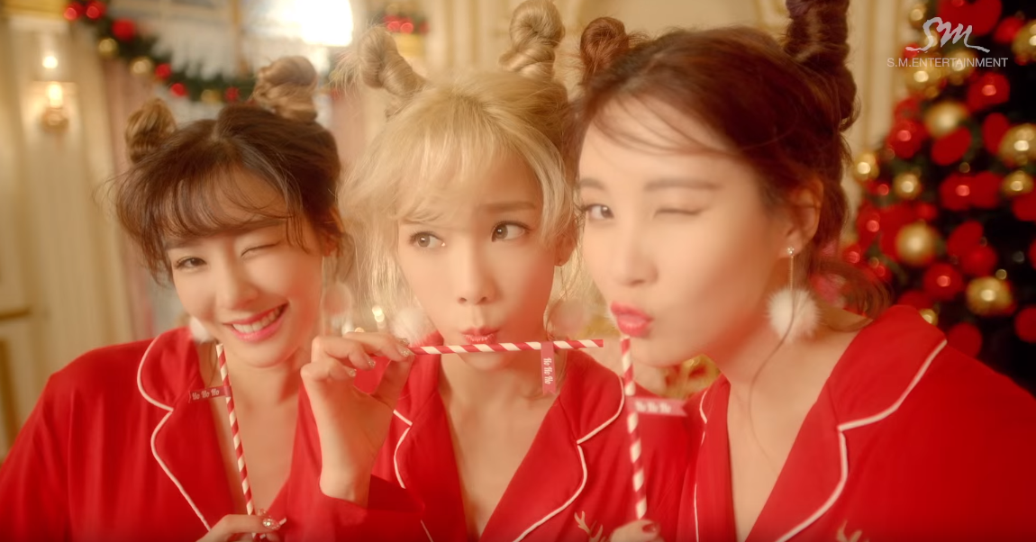 ★ No.9 :: Girls' Generation-TTS 'Dear Santa' ★  * 無法播放時,請直接按出處
