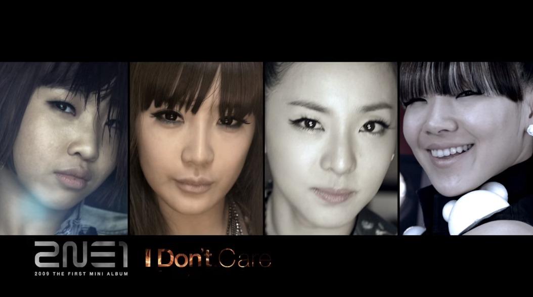 2009.7 ♪2NE1 - I DON'T CARE  未出道前與BIGBANG合作《Lollipop》造成轟動,之後出道曲《FIRE》和《I Don't Care》掀起熱潮,《I Don't Care》MV中還有青澀時期的李鍾碩喔XD