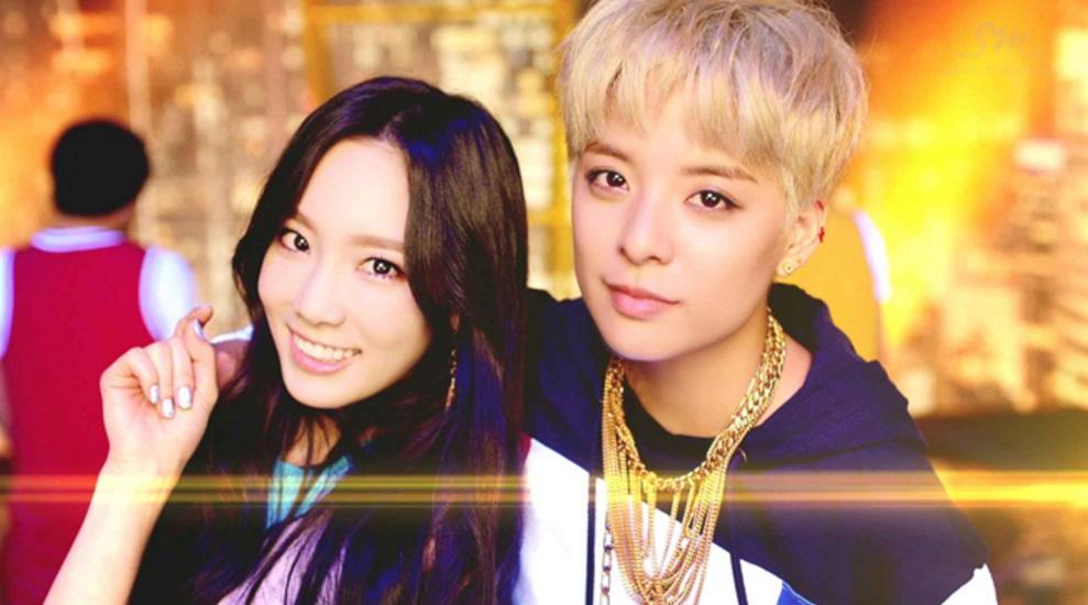 今年2月Amber推出的首張迷你專輯《Beautiful》主打歌〈SHAKE THAT BRASS〉太妍也有參與feat.!