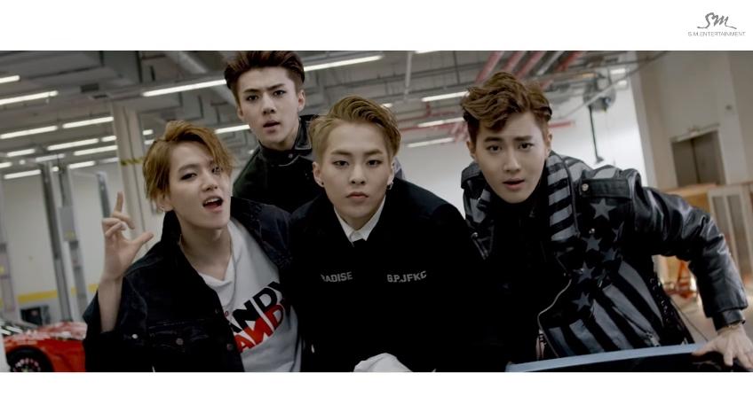 ♪第2名  EXO – CALL ME BABY