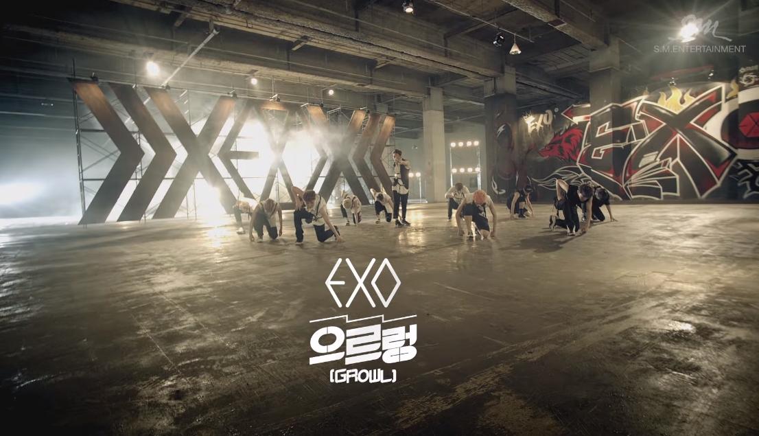 ♫ EXO 《Growl》  「噹噹搭拉拉 噹噹~」聽到這個就知道是「咆哮」了!  * 無法播放時,請直接按出處