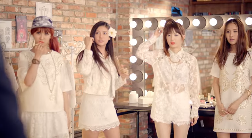 Big Hit娛樂在推出防彈少年團之前,曾與其他公司合推過女團GLAM,才發行了3張單曲,最後一張是2013年了~