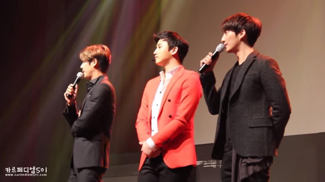 或許大家可能忘記了,當初韓劇《花樣男子》的那首「因為我太傻」,也是由他們三個人演唱的喔♥