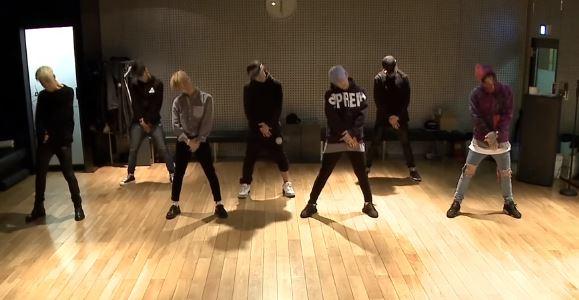 iKON - RHYTHM TA DANCE PRACTICE