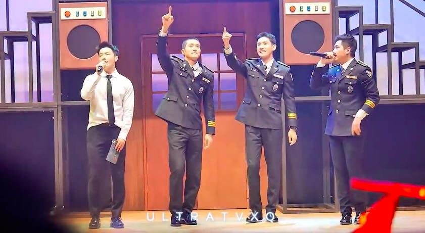警察的公演都是免費的~ 有沒有開始羨慕韓國人了XDD