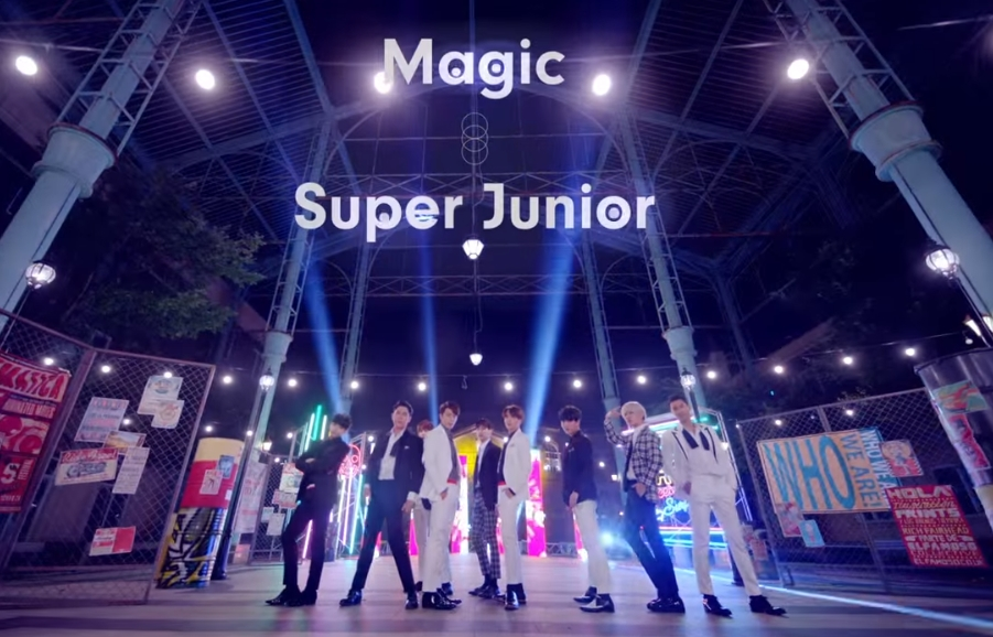 ♡ TOP 4 :: Super Junior《Magic》