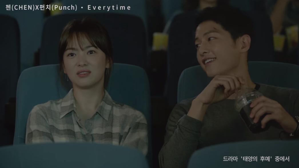★ No.3 :: CHEN、Punch 'Everytime' ★  本週的第三名還是《太陽的後裔》OST,這樣大家應該知道最近韓國超熱門的韓劇是什麼了吧!  * 無法播放時,請直接按出處