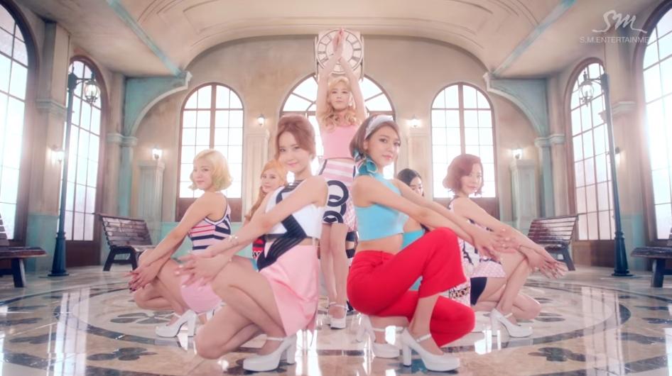 ♥第4名〈Lion Heart〉 不僅顏值超高,編舞也受到許多歡迎的歌曲!太妍在這首歌曲中的美麗金髮被稱為「太妍傳奇」!