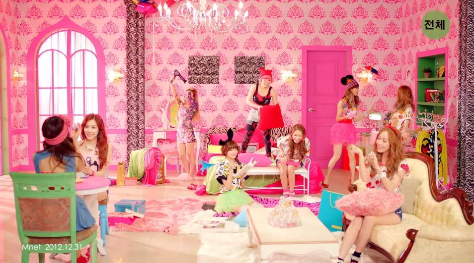 ♥第3名〈I GOT A BOY〉 這首歌曲被韓國媒體稱為「Girl Crush始祖」,也從這時候開始所有成員都變得很幹練♥