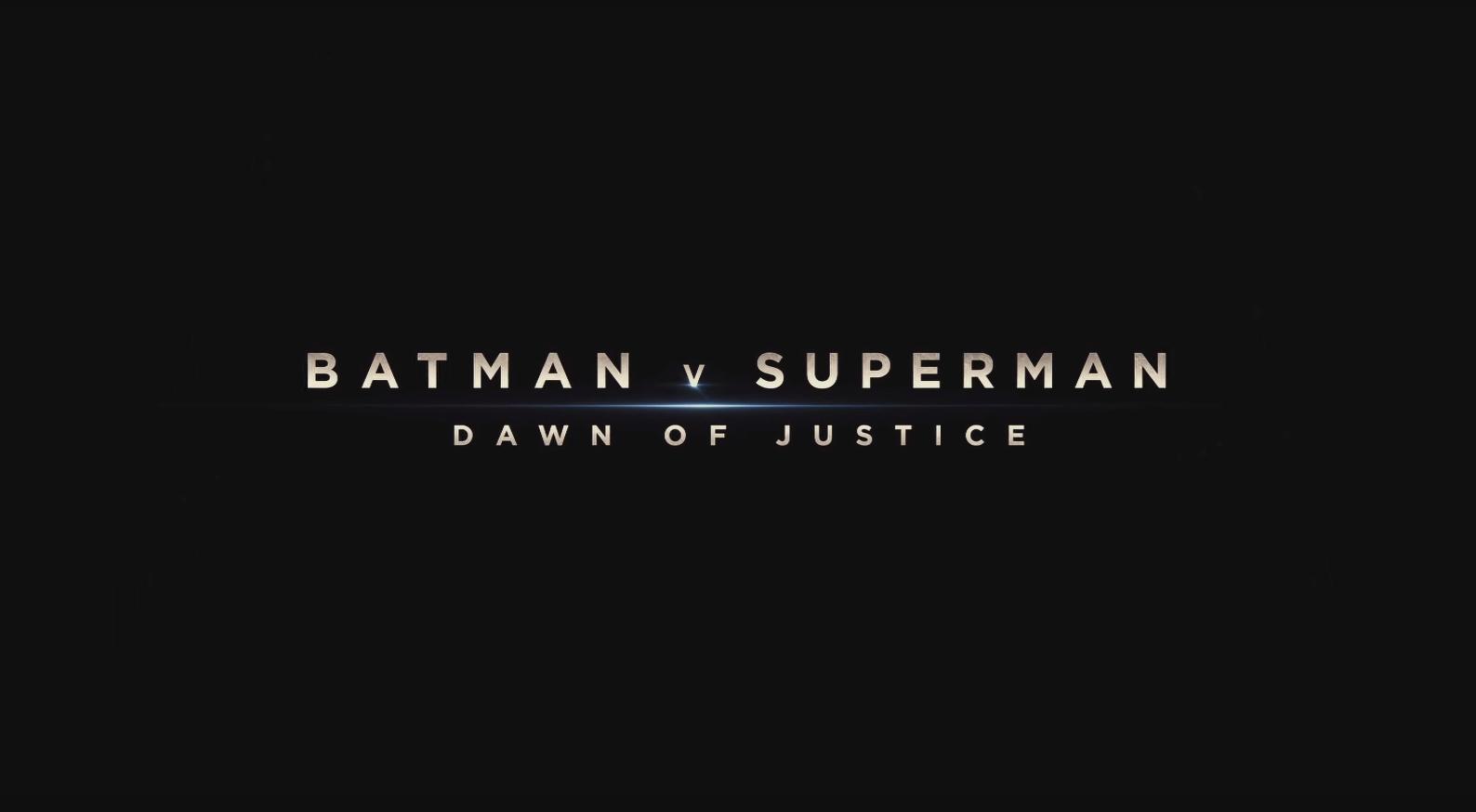 《蝙蝠俠對超人:正義曙光》官方預告片