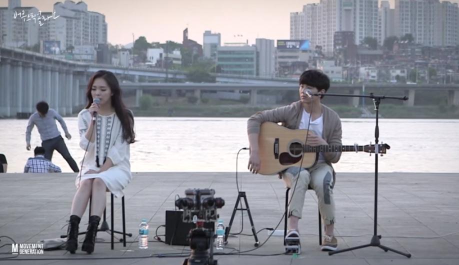 ♥第7名 - 戀愛的發現OST! Acoustic Collabo〈묘해, 너와〉