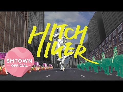 Hitchhiker - 11 *先說SM推出的這團體本身不主打偶像牌,音樂風格與MV看不懂(但是蛔蟲DJ本人很喜歡就是惹XD)